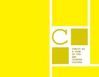 Comics as a form of sub/counterculture | Book design