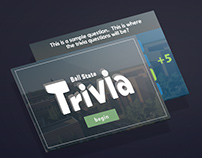 Trivia Touch Screen Game