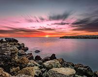 Sunset at Naples, FL
