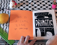 Comic Zine Video