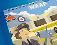 Illustrated RAF Calendar