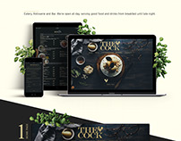 Web-design for restaurant