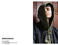 Workwear Editorial for Kapkan Shop