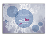 Care1st Health Plan Holiday Greeting Card