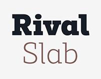 Rival Slab Font Family