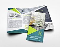 Architectural Design Tri-Fold Brochure Template