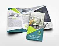 Architectural Design Tri-Fold Brochure Template