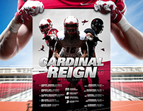 2016 North Central College Football Poster