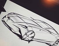 Car Design Doodles