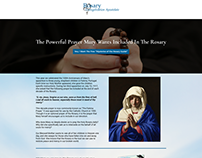 Rosary Evangelization Apostolate Landing Page
