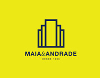 Maia & Andrade - Real estate | Rebranding