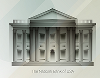 The National Banks - Illustrations