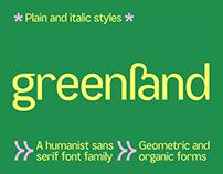SK Greenland Typeface