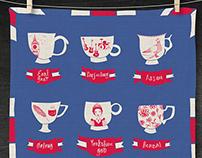 Englishness Tea Towel
