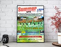 Poster Summer Camp Karate 2019