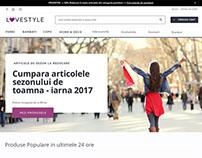 Lovestyle - Website Design