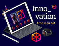 Free Innovation Vector Icons Set