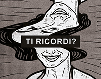 TI RICORDI? / Editorial Illustration for SBM#8