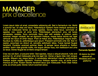 Manager prix d'excellence