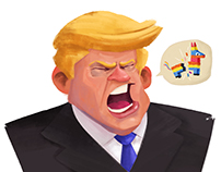 """No more Piñatas !"" - Donald Trump"