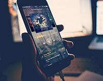 Track 777 - IOS 9 UI/UX App Design