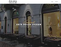 Web Design - Arte Dolce Lyceum