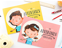 'THE ADVENTURES YOU'LL HAVE' PERSONALIZED BOOKS