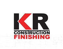 KR Construction Logo Design