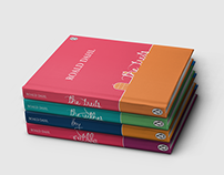 Roald Dahl Book Cover Series