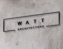 Watt Architecture Logo Design