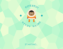 GoTato! app Launch Image