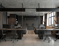Modern office interior by Zooi design studio