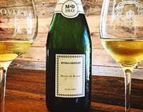 Myers-Deovlet Champagne Branding/Label Design