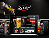 Carling Black Label - Website