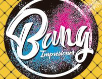 Logo Bang Impresiones