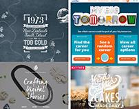 22 Website Designs With Amazing Typography