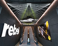 Rebel - Stadium of Sport - Westfeild Bondi Junction
