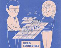Nerd Louisville Illustration
