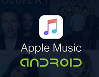 Apple Music for Android | Material Design