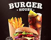 Burger Flyer & Menu