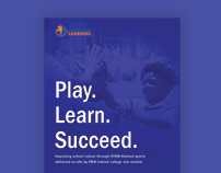 Sports for Learning one page brochure