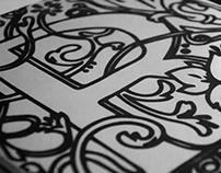 Serigrafía | Letra capitular