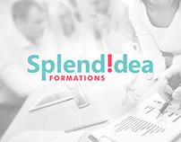 Айдентика консалтинговой икомпании SplendIdea. Франция.