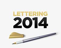 Lettering 2014