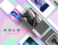 HOLÓ - Social media template