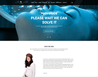 Landing page for Nuovaluce BEAUTY