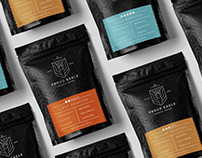 Brand Identity for Proud Eagle Coffee