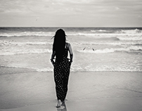 Chantiel and the ocean