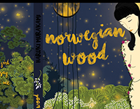 Book Cover Concept/Norwegian Wood-Haruki Murakami