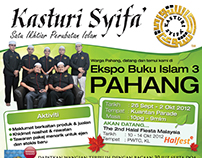 Kasturi Syifa's exhibition announcement